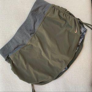 Nike Running Skirt With Tie Dye Shorts